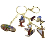 Disney Keychain - Character Charms - Ink and Paint