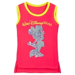 Disney Girls Shirt - Minnie Mouse Reversible Sequin - Walt Disney World - Tank
