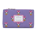 Disney Loungefly Canvas Flap Wallet - Daisy Duck