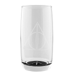 Universal Glass Tumbler - Harry Potter - Deathly Hallows Symbol