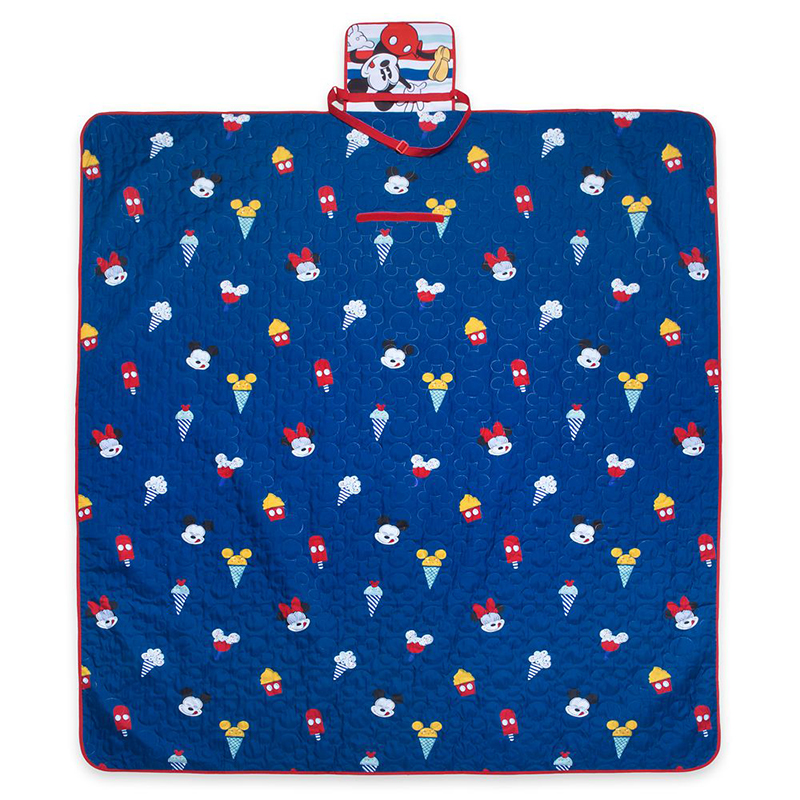 Disney Blanket - Mickey Mouse Summer Fun - Picnic Blanket