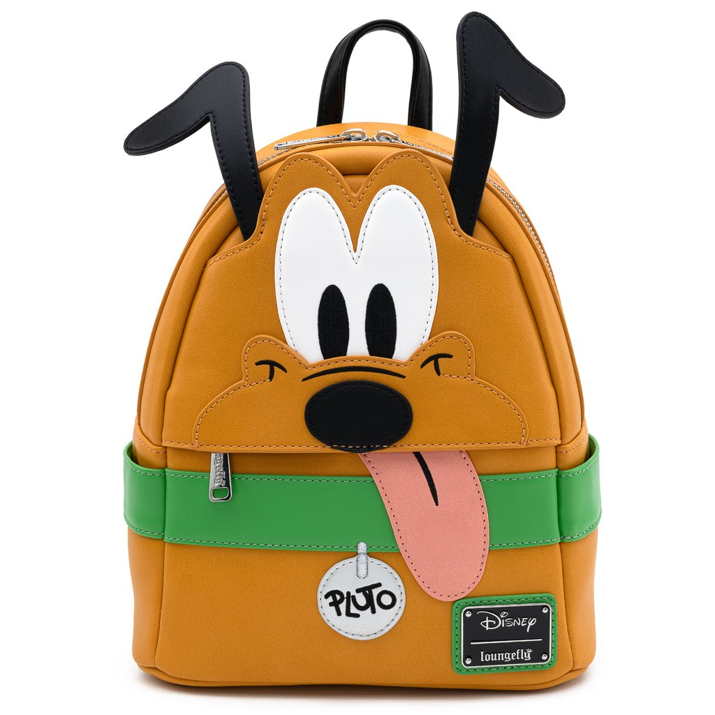 Disney Loungefly Mini Backpack Bag - Pluto Cosplay