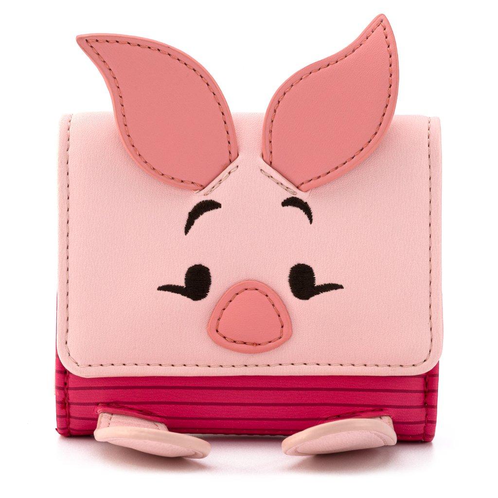 Disney Loungefly Flap Wallet Piglet Winnie The Pooh
