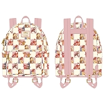 Disney Loungefly Bag - Best Friends -Rose Checker - Mini Backpack