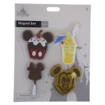Disney Magnet Set - Mickey Sweet Treats - Set of 4