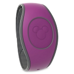 Disney MagicBand 2 Bracelet - Plum Purple