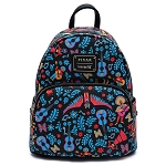 Disney Loungefly Mini Backpack Bag - Coco Dia de los Muertos - Pixar AOP