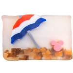 Disney Basin Fresh Cut Soap - Americana Beach Umbrella with Mickey