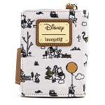 Disney Loungefly Wallet - Winnie the Pooh Line Drawing Flap Wallet