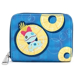 Disney Loungefly Zip Around Wallet - Lilo & Stitch Pineapple