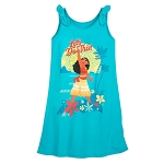 Disney Girls Jersey Tank Dress - Moana