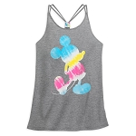 Disney Women's Shirt - Mickey Mouse Tie-Dye Tank Top
