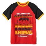 Disney Mens Shirt - Animal - The Muppets