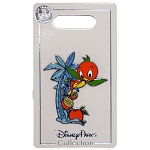 Disney Pin - Orange Bird On A Palm Tree