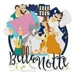 Disney Jumbo Pin - Lady & The Tramp Belle Notte - Limited Edition