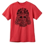 Disney Adult Shirt - Darth Vader Words