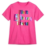 Disney Adult Shirt - Walt Disney World Rainbow Logo