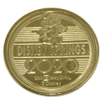 Disney World Pocket Token Coin - Disney Springs - 2020