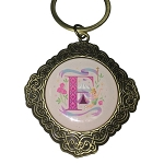 Disney Keychain Keyring - Initial Mickey Mouse - F Is For Fantasyland