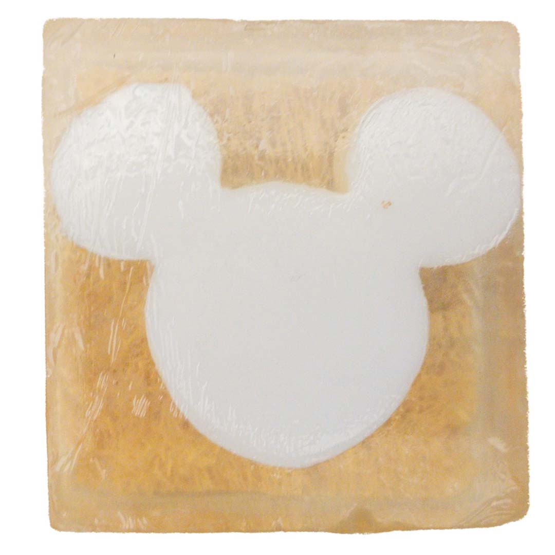 Disney Basin Soap - Mickey Icon Loofah Bar
