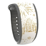 Disney MagicBand 2 Bracelet - Cinderella Castle - Where Dreams Come True