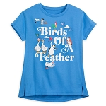 Disney Women's Shirt - Birds of a Feather