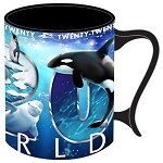 SeaWorld Coffee Cup Mug - 2020 Sea Life Logo