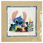 Disney Print - Steph Laberis - Stitch - Ohana Tea Party