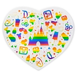 Disney Magnet - Rainbow Disney Collection - Parks Icons