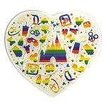 Disney Magnet - Pride - Rainbow - Cinderella Castle and Park Icons