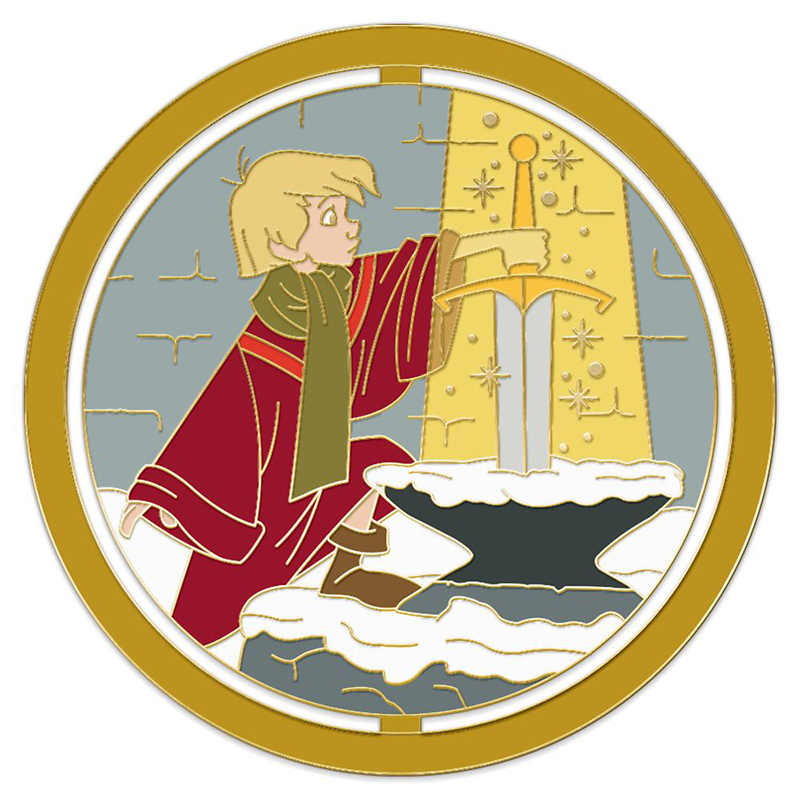 Disney Pin - Enchanted Emblems - Wart - The Sword in the Stone - Limited Edition