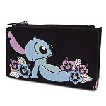 Disney Loungefly Satin Wallet - Stitch
