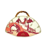 Disney Loungefly Bag - Mulan Fan - Bamboo Handle - Handbag