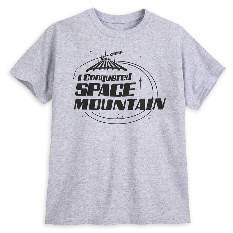 Disney Child Shirt - I Conquered Space Mountain