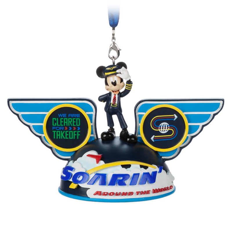 Disney Ear Hat Ornament - Soarin Around The World