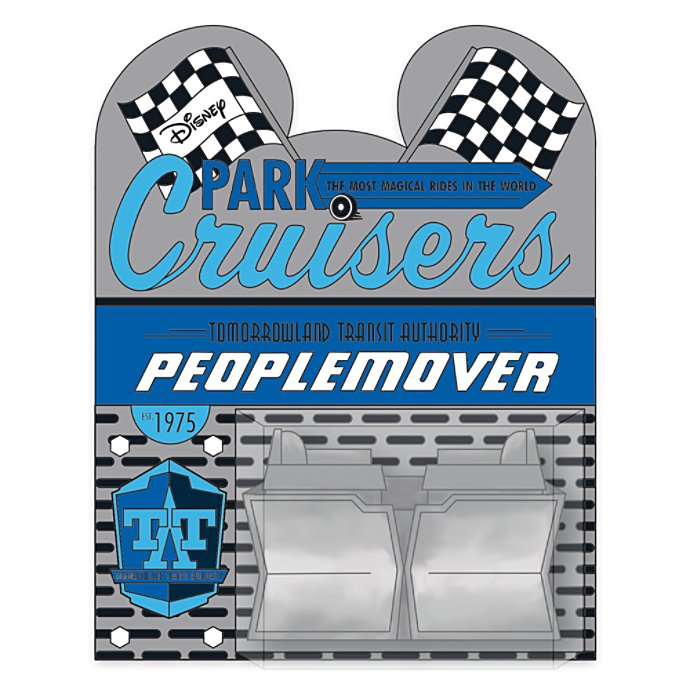 Disney Pin - Disney Park Cruisers - 05 Peoplemover