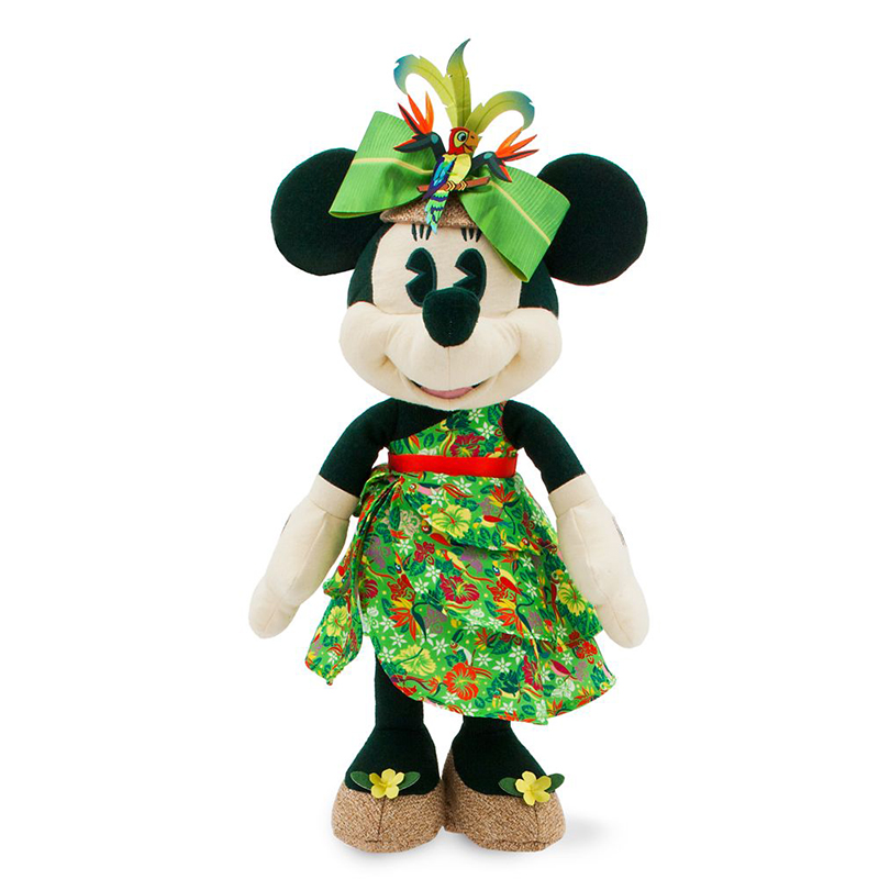 Disney Plush - Minnie Mouse The Main Attraction - Enchanted Tiki Room