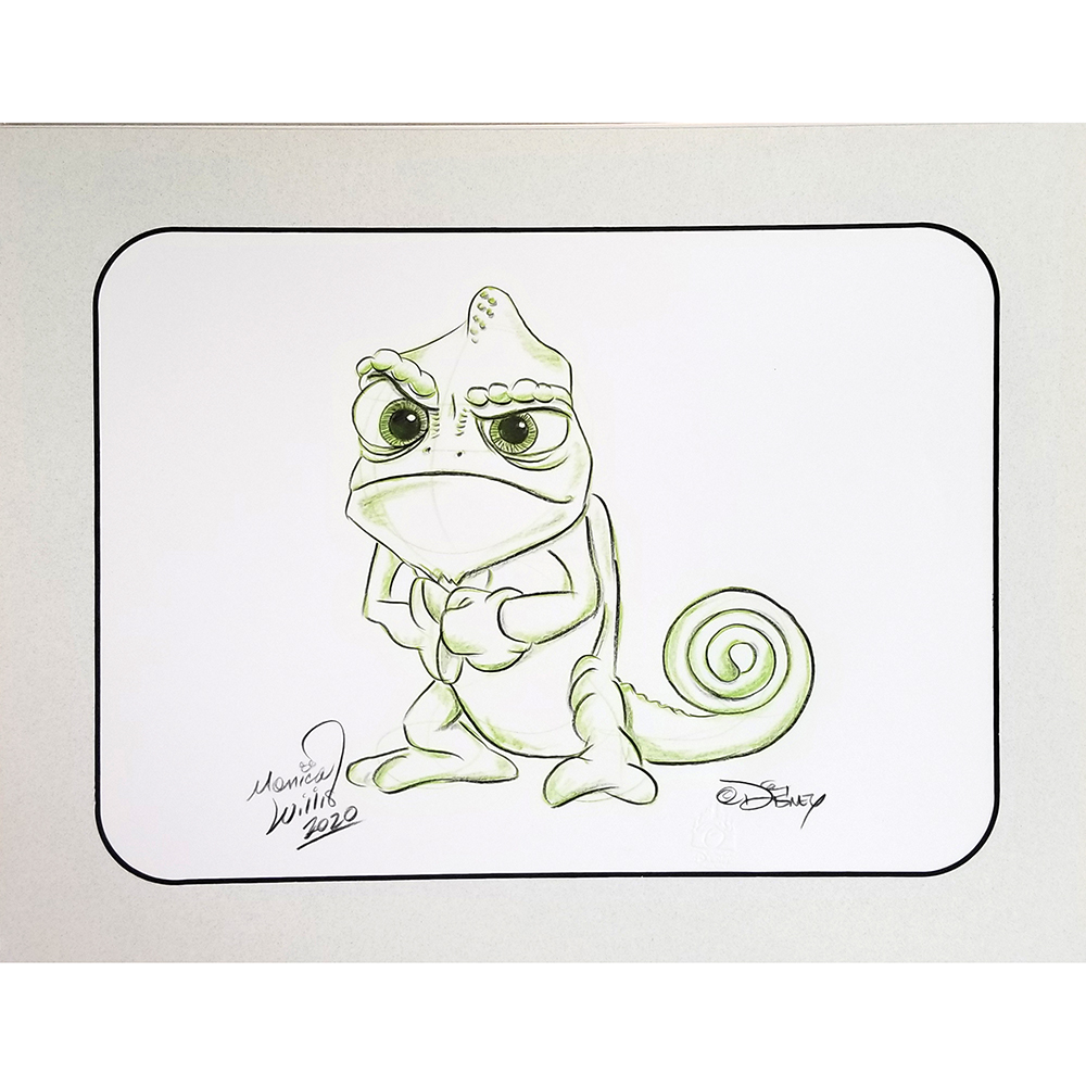 Disney Artist Sketch - Tangled - Pascal