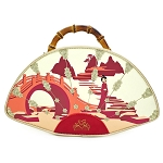 Disney Loungefly Handbag - Mulan Fan - Bamboo Handle - Purse