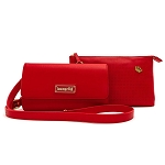 Disney Loungefly Crossbody Bag - Pin Trader Double Purse - Red
