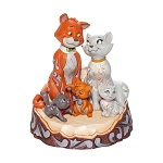 Disney Jim Shore Traditions - Aristocats Carved by Heart