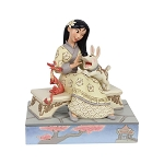 Disney Jim Shore Traditions - White Woodland Mulan