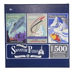 Disney Parks Signature Puzzle Set - Disneyland 60th Anniversary - 3 Puzzles