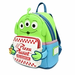 Disney Loungefly Mini Backpack Bag - Toy Story Alien - Pizza Planet