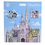Disney Four Pin Booster Set - Magic Kingdom Character Lands