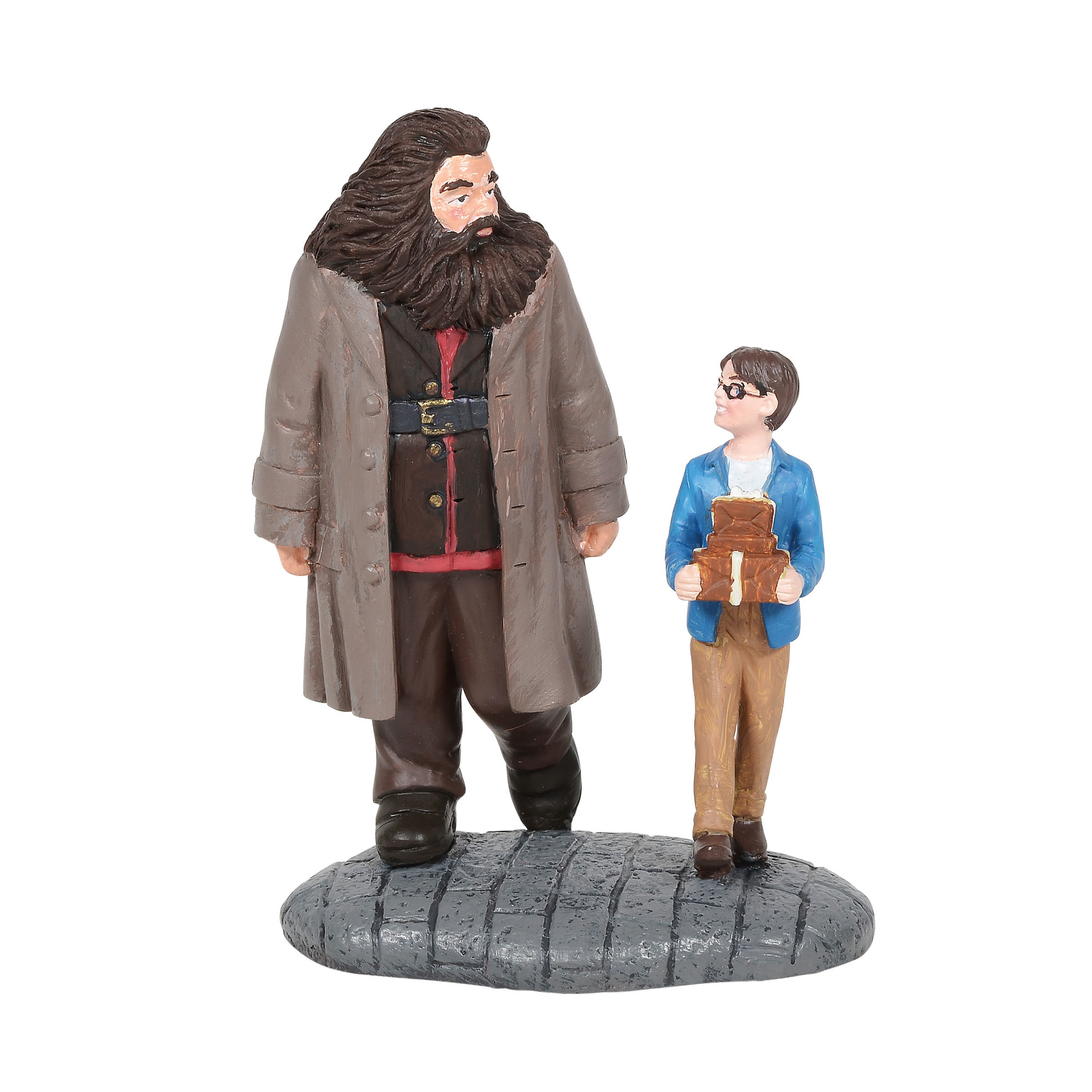 Universal Figure - Harry Potter Village - Harry and Hagrid Shopping