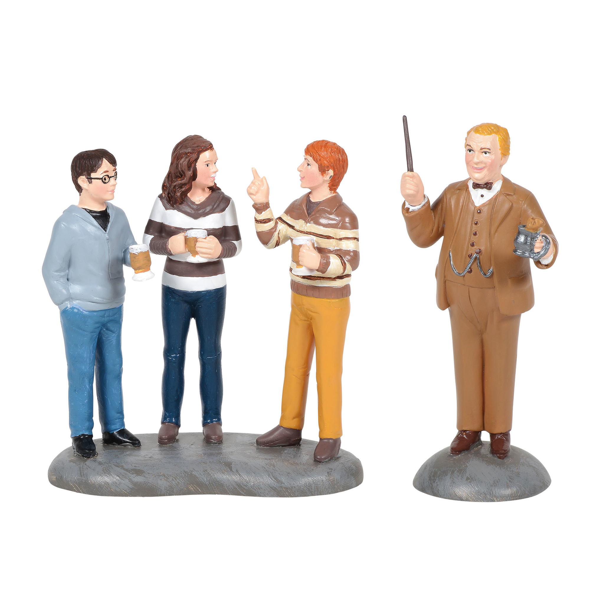 Universal Figure - Harry Potter Village - Professor Slughorn and the Trio
