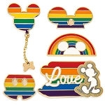 Disney Five Pin Set - Rainbow Disney Collection - Mickey Mouse - 2020