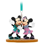 Disney Figure Ornament - Mickey and Minnie Mouse - Aulani Resort and Spa