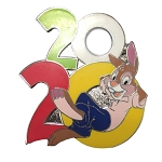 Disney Mystery Pin - Walt Disney World 2020 Logo - Br'er Rabbit